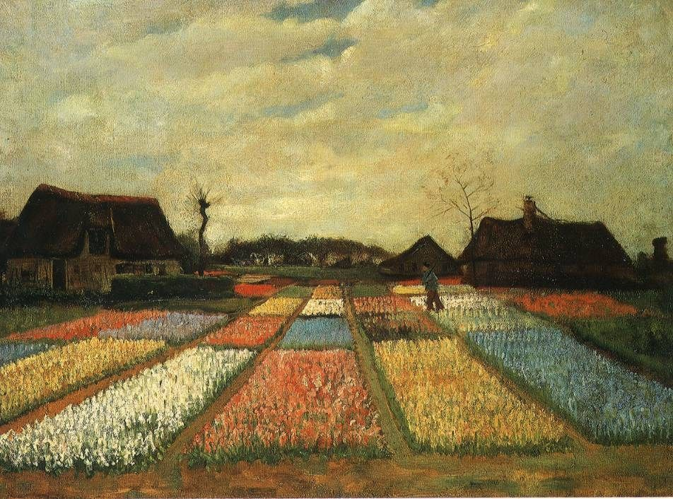 Vincent van Gogh Flower Beds in Holland