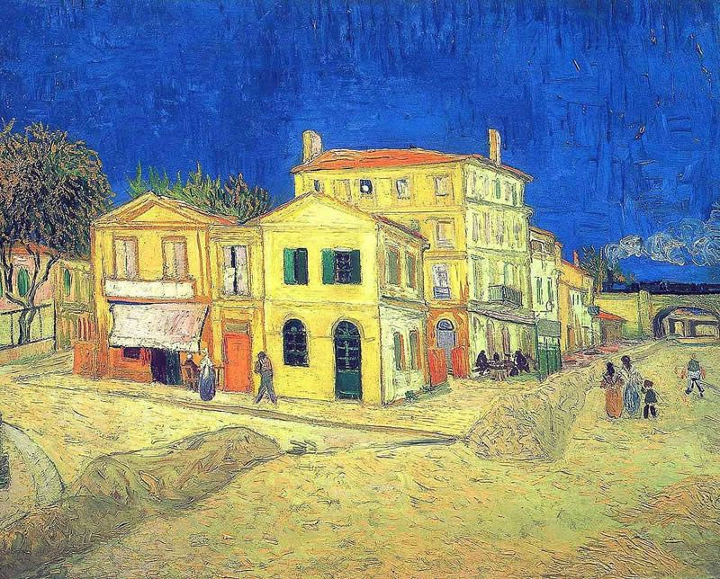 Vincent van Gogh Vincent's House in Arles The Yellow House