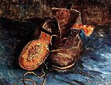 Vincent van Gogh A Pair of Shoes 2 painting