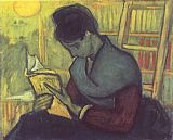 Vincent van Gogh A woman reading painting