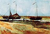 Vincent van Gogh Beach at Scheveningen in Calm Weather painting