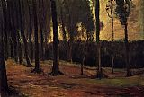 Vincent van Gogh Edge of a Wood painting