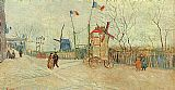Vincent van Gogh Holiday at Montmartre painting