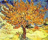 vincent van gogh Canvas Prints - Mulberry Tree