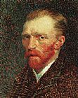 Vincent van Gogh Self-Portrait painting