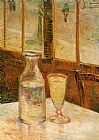 Wine paintings - Still Life with Absinthe by Vincent van Gogh