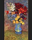 Vincent van Gogh Still life with a vase margin rites and anemones painting
