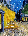 Street paintings - The Cafe Terrace by Vincent van Gogh