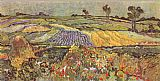 Vincent van Gogh The Lowlands at Auvers-Sur-Oise painting