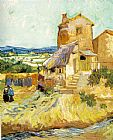 Vincent van Gogh The Old Mill painting