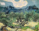Vincent van Gogh The Olive Trees painting