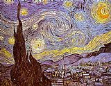 starry night over the rhone Paintings - The Starry Night Saint-Remy