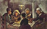 Vincent van Gogh The potato eaters painting