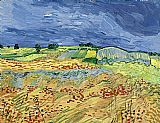 Vincent van Gogh Wheat Fields painting