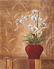 Vivian Flasch Orchid Obsession II painting