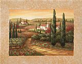 Vivian Flasch Tuscan Sunset II painting