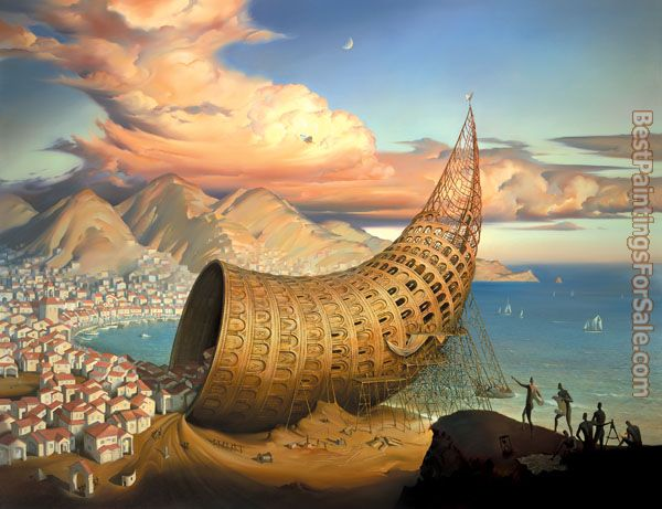 Vladimir Kush Horn of Babel