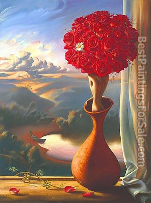 Vladimir Kush Rose Awaiting