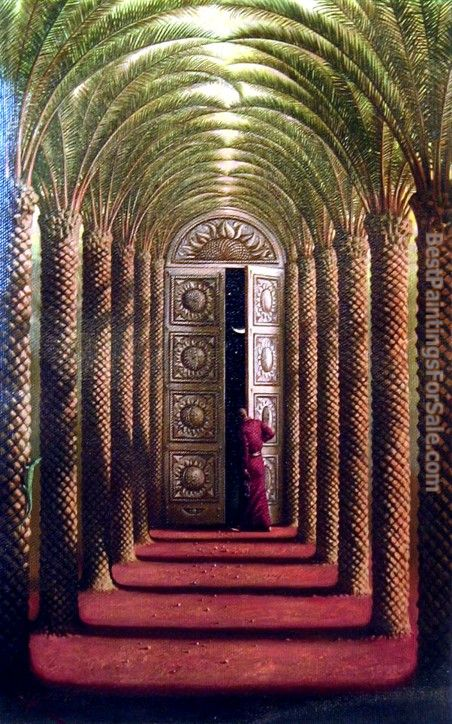 Vladimir Kush doors of the night