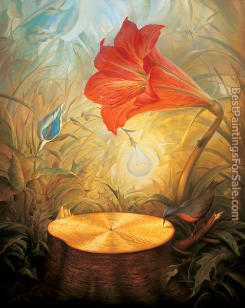 Vladimir Kush music of the woods
