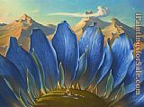Vladimir Kush Across the Mountains and into the Trees painting