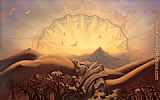 Vladimir Kush Dream Catcher painting