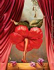 Vladimir Kush Hibiscus Dancer painting