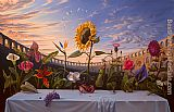 Vladimir Kush Last Supper painting