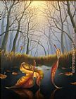 Vladimir Kush Love Confession painting