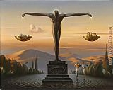 Vladimir Kush Our Time Together painting