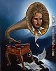 Vladimir Kush Spirit of Beethoven painting