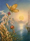 Vladimir Kush Treasure Island painting