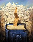 Vladimir Kush bookmark painting