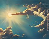 Vladimir Kush haven painting