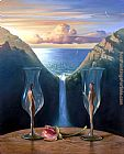 Vladimir Kush to our time together painting