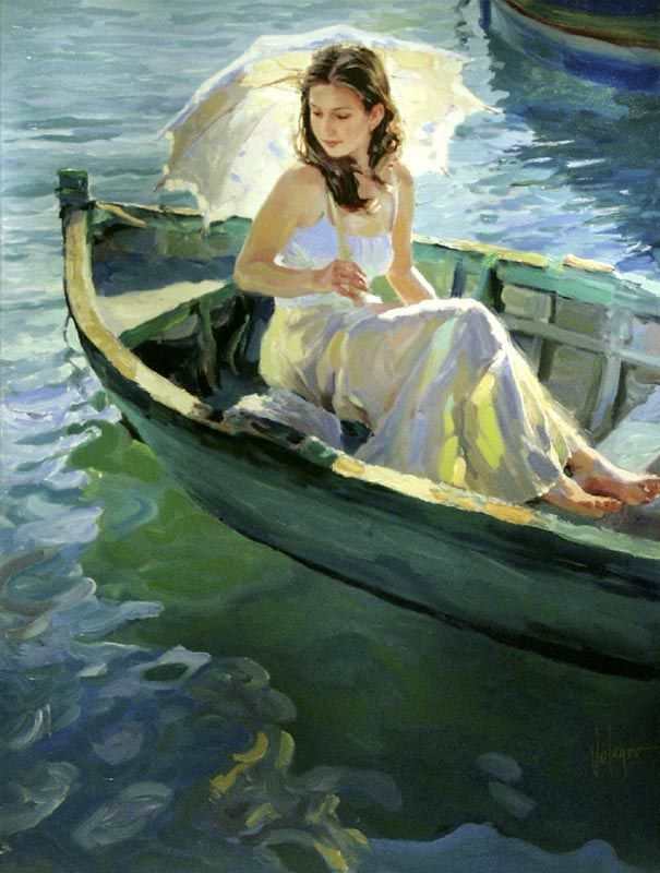 Vladimir Volegov On the Lake
