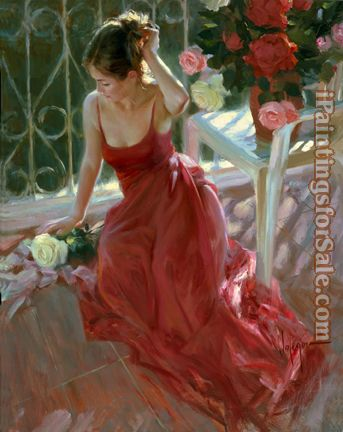 Vladimir Volegov Reverie in red and white