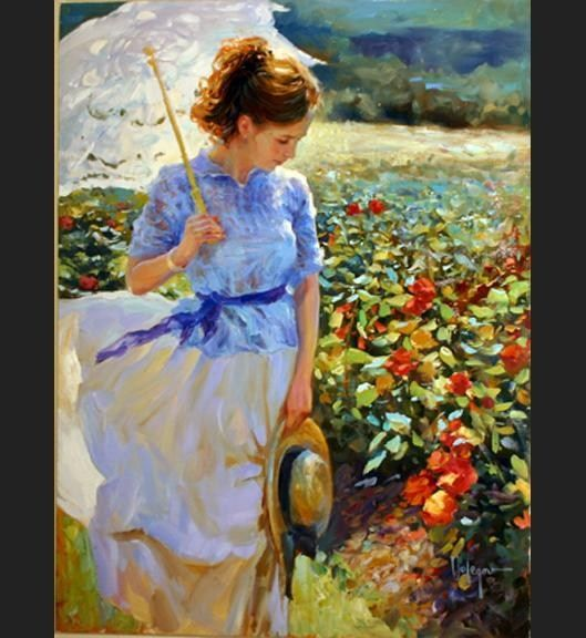 Vladimir Volegov She walks in Beauty