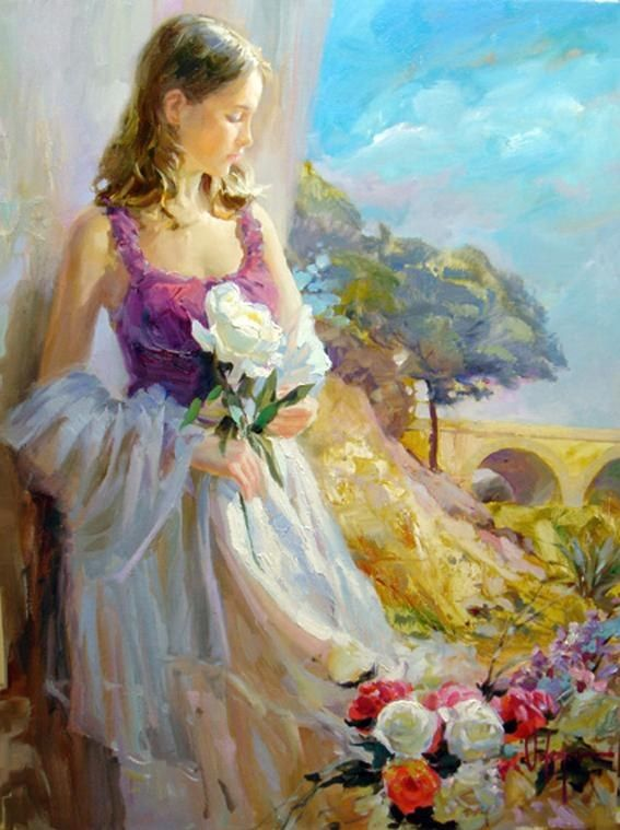 Vladimir Volegov Thoughts of Springtime