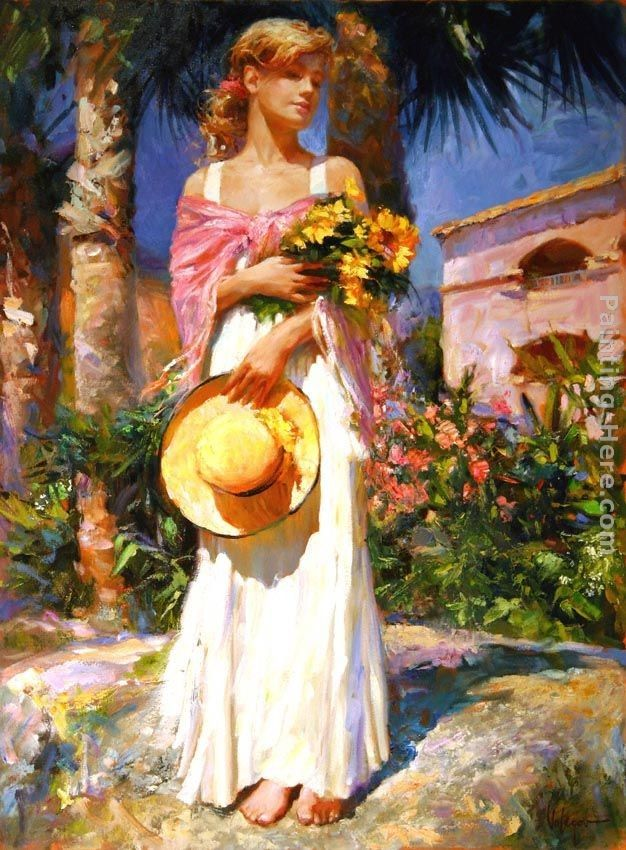 Vladimir Volegov Yellow Bouquet