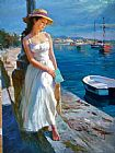 Vladimir Volegov At 0The Harbor eml painting