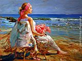 Vladimir Volegov Lost in Thought painting