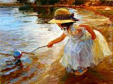 Vladimir Volegov Playing in the Park painting