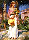 Vladimir Volegov Yellow Bouquet painting