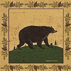 dancing bears Paintings - Folk Bear