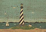 Lighthouse paintings - Lighthouse II by Warren Kimble