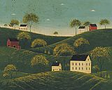 Warren Kimble Rolling Hills painting