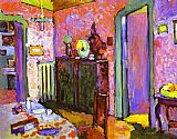 Wassily Kandinsky Interior My Dining Room painting