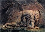 William Blake Nebuchadnezzar painting