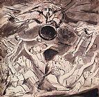 William Blake The Resurrection painting